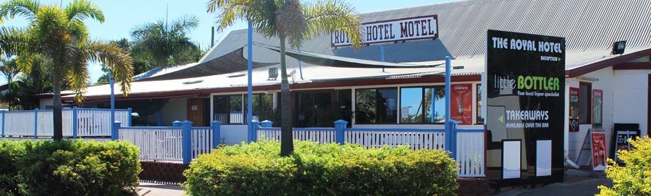 The Royal Hotel is located in the small North West Queensland town of Hughenden
